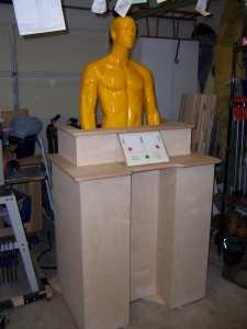 Proverb Generator Cabinet Assembly