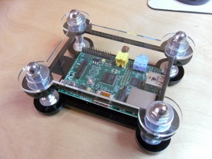 Raspberry Pi in it's new home